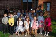 5,6gadīgo bērnu grupa Audzinātājas Zaiga Šīre un Larisa Radzeviča, skolotāja palīgs Sarmīte Daņilova